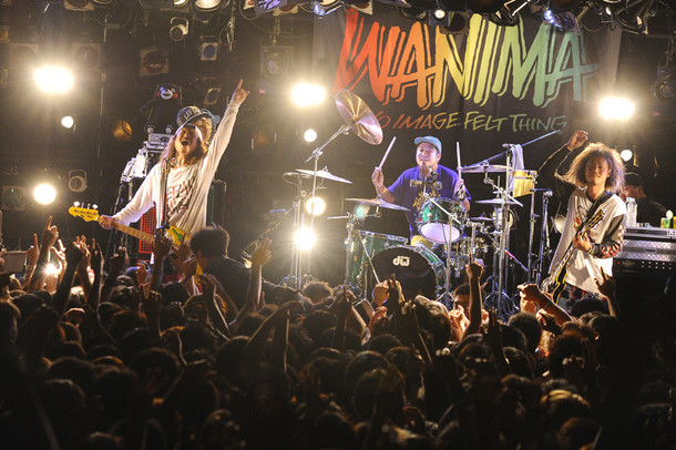 "WANIMA「Think That... Tour""TOUR FINAL""」の様子。(Photo by Yuji Honda )"