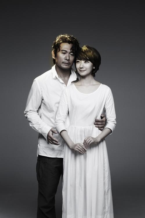 リーディング公演「乳房」イメージビジュアル 内野聖陽と波瑠