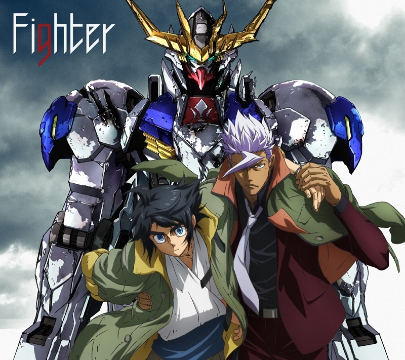 「Fighter」アニメ版ジャケット