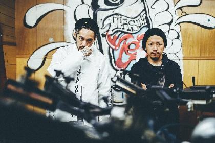 "JESSE(RIZE、The BONEZ) × w-shun(KNOCK OUT MONKEY) ""バンドマン""であり続ける両者は、いま何に賭けるのか"