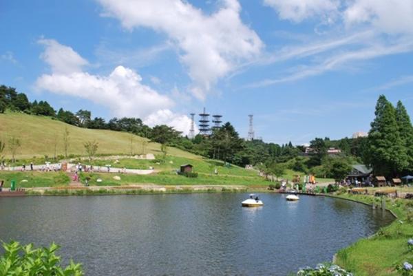 六甲山カンツリーハウス全体