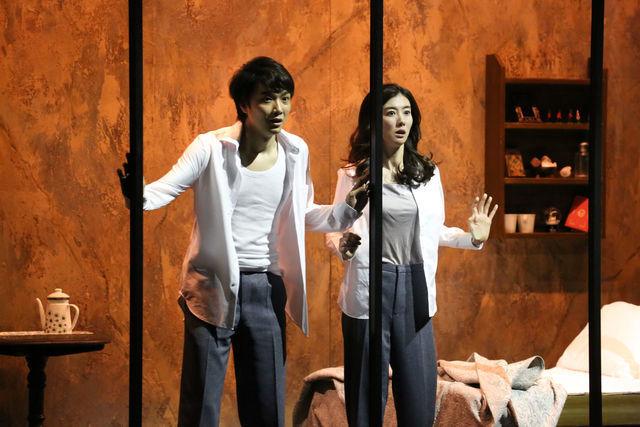 新国立劇場『1984』(撮影:宮川舞子)