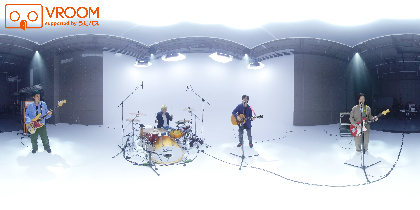 ストレイテナー、ベスト盤収録曲「彩雲」の360度VR映像を無料配信