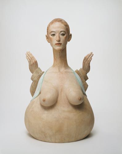 舟越桂《水に映る月蝕》2003年 作家蔵 画像提供:西村画廊