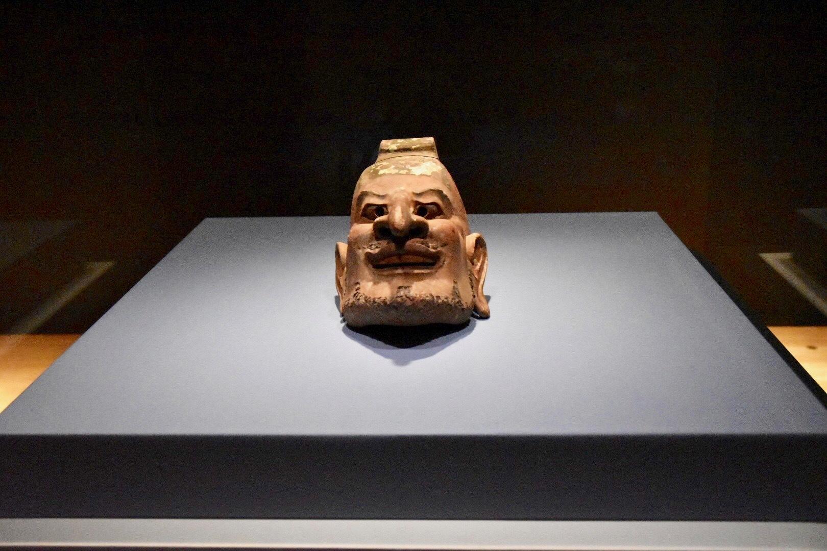 正倉院宝物《伎楽面 酔胡王》 奈良時代 8世紀 正倉院蔵 前期展示
