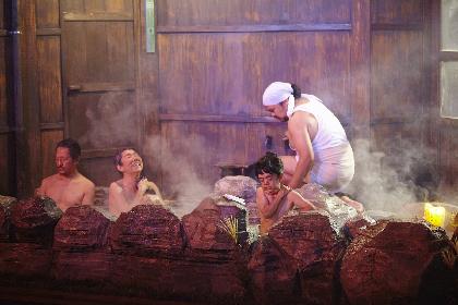 庭劇団ペニノが、岸田戯曲賞受賞『地獄谷温泉 無明ノ宿』舞台装置の仕込み現場を公開