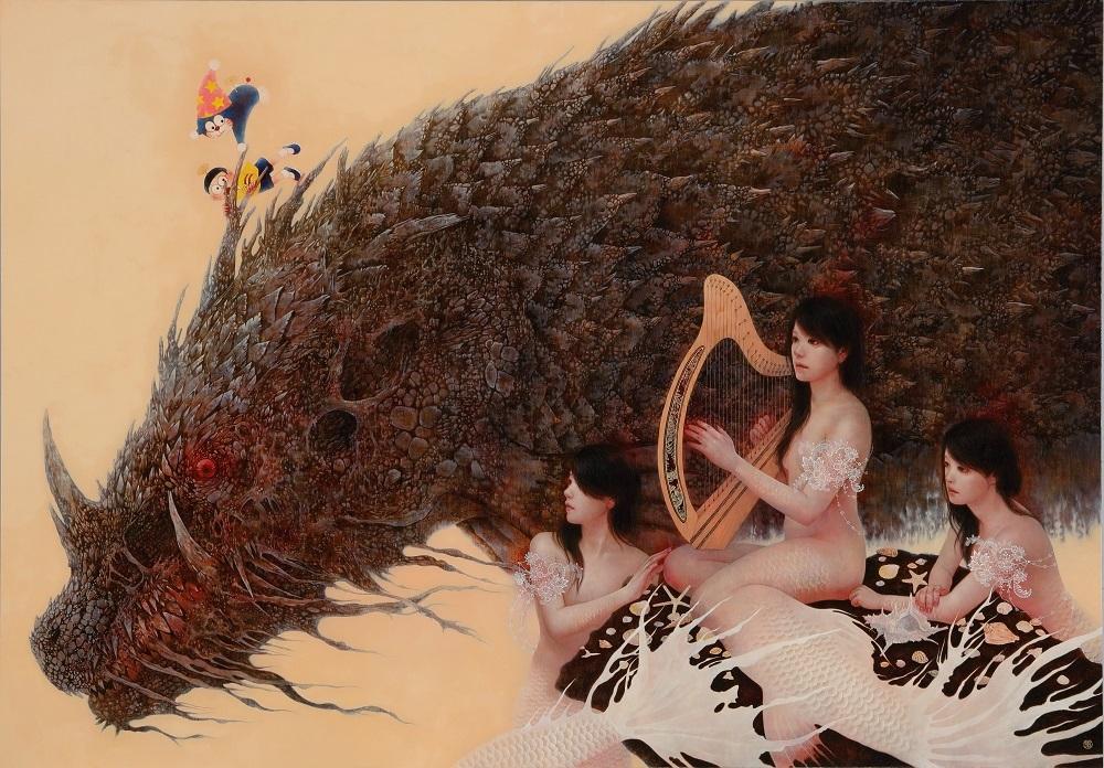 篠原愛『To the Bright ~のび太の魔界大冒険~』 ©Ai Shinohara ©Fujiko-Pro
