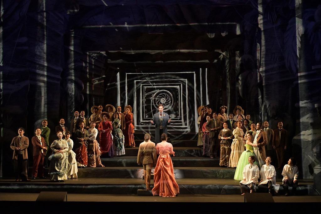 オペラ『魔笛』 撮影:寺司正彦