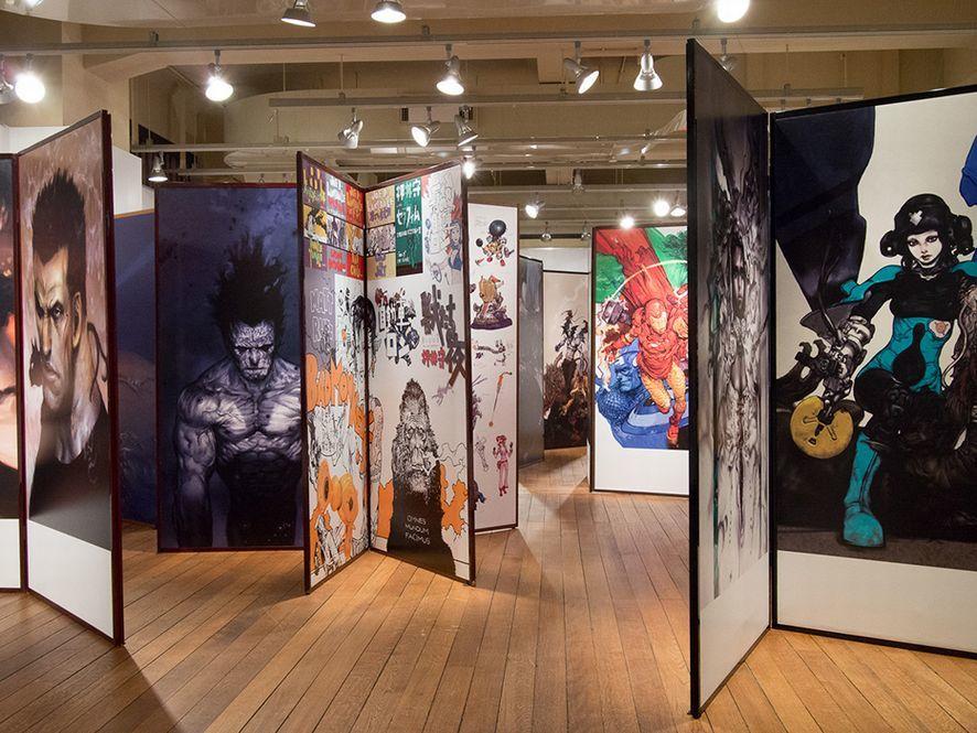 ▲ココ10年展(京都)での様子