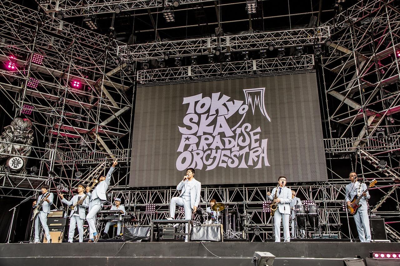 東京スカパラダイスオーケストラ 撮影=青木カズロー