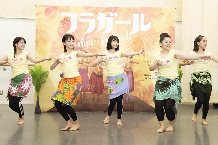 『フラガール dance for smile』稽古場にて