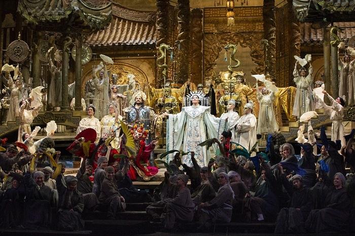 『トゥーランドット』 (C)Marty Sohl/Metropolitan Opera