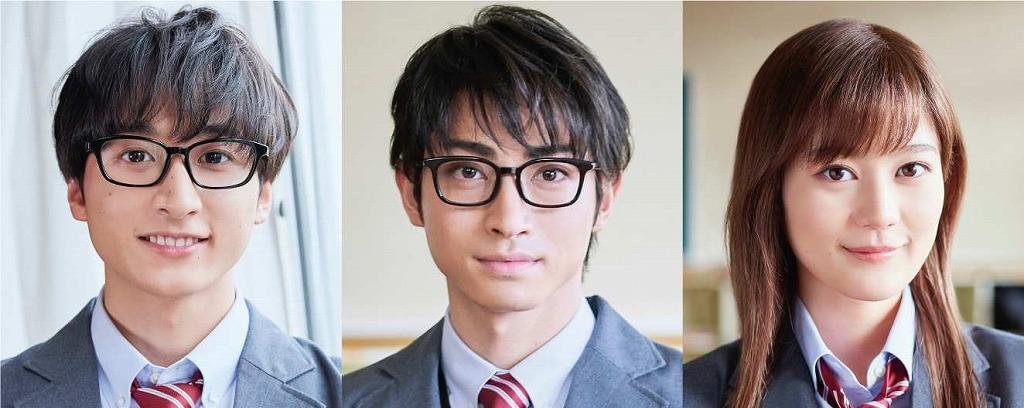 『四月は君の嘘』より(左から)小関裕太、木村達成、生田絵梨花