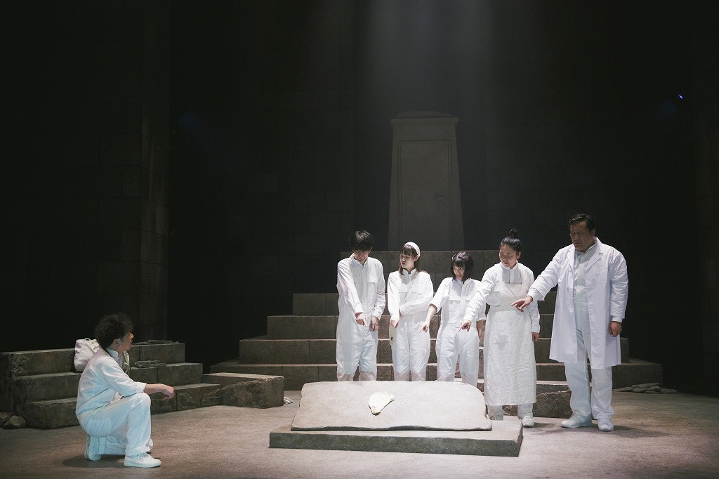 シアタートラム  ネクスト・ジェネレーションvol.13 PANCETTA special performance 『un』 撮影:市川唯人(2020年 会場:シアタートラム)