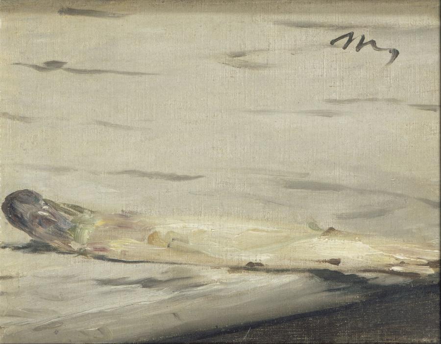 エドゥアール・マネ《アスパラガス》1880年 オルセー美術館
