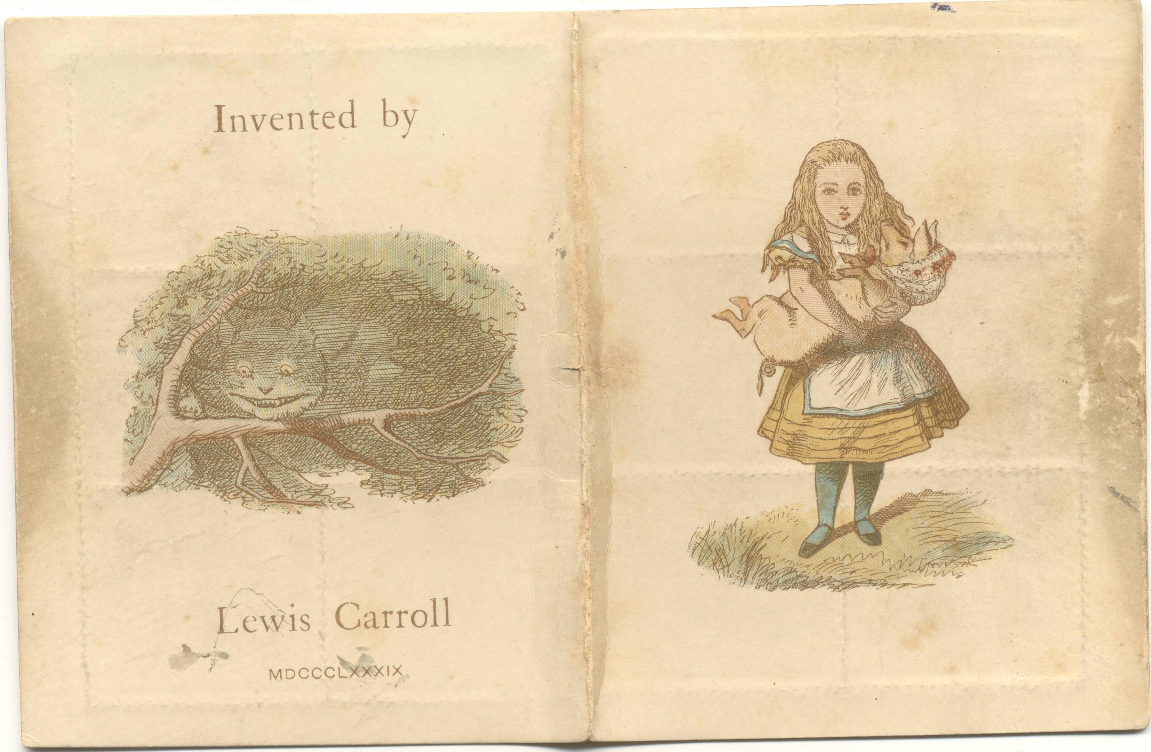 ルイス・キャロル 「切手ケース」 Lewis Carroll, The Wonderland postage stamp case, The Rosenbach, Philadelphia
