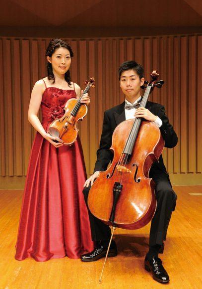 印田千裕(ヴァイオリン)& 印田陽介(チェロ)