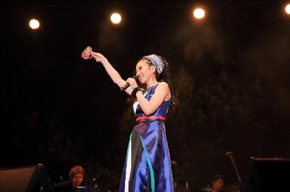 MISIA 奈良・春日大社で『Misia Candle Night Live』を開催  世界遺産を舞台に清水ミチコと全身全霊ライブ