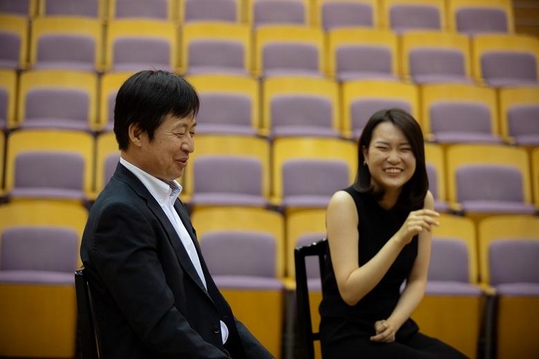 大阪フィルはとてもフレンドリーなオーケストラです。  (c) Kazunari Tamura
