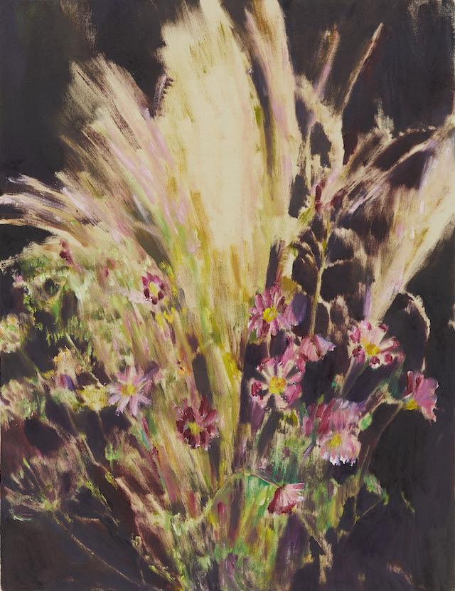 Bouquet d'Octobre 2017 65.0 x 50.0 cm oil on canvas  (C)Midori Sato