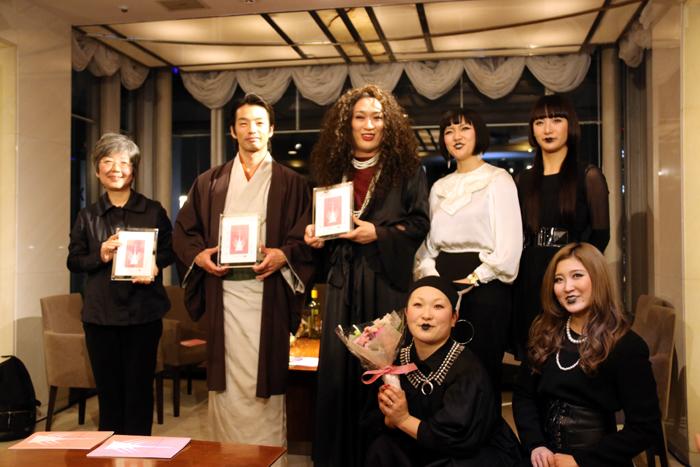 東京ゲゲゲイ、森山未來、渡辺喜美子「第10回日本ダンスフォーラム賞 授賞式」