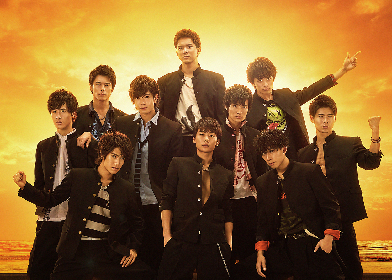 BOYS AND MEN、アニメ『新幹線変形ロボ シンカリオン』主題歌を担当 「10人みんなで「ウォー!」と喜びました!」