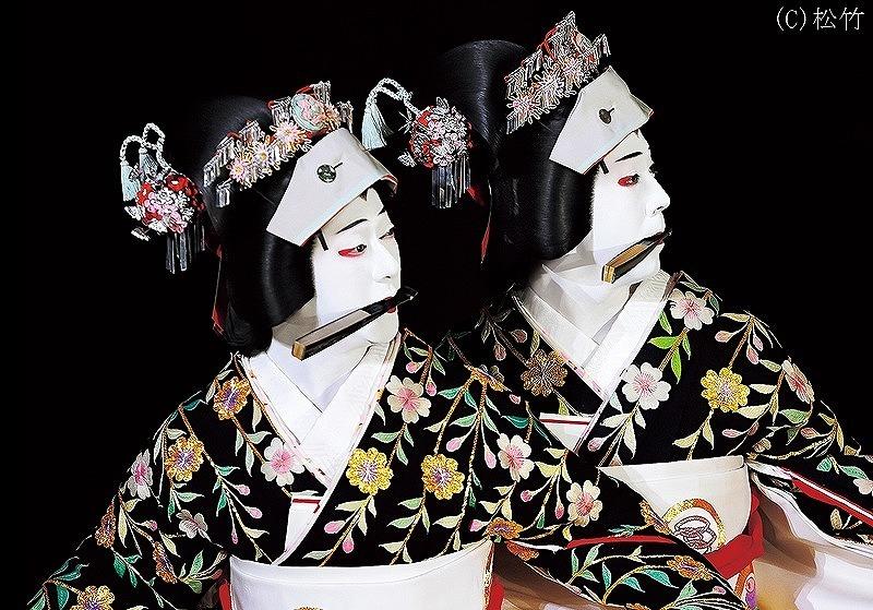 シネマ歌舞伎『京鹿子娘二人道成寺』  (C)松竹