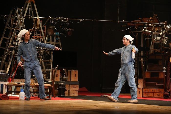 御笠ノ忠次(左)・川尻恵太(右)  (撮影:和田咲子)