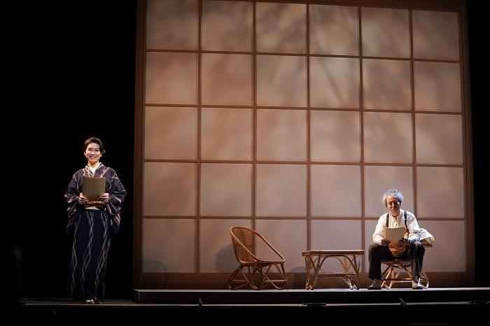(左から)高田聖子、入江雅人 撮影:宮川舞子