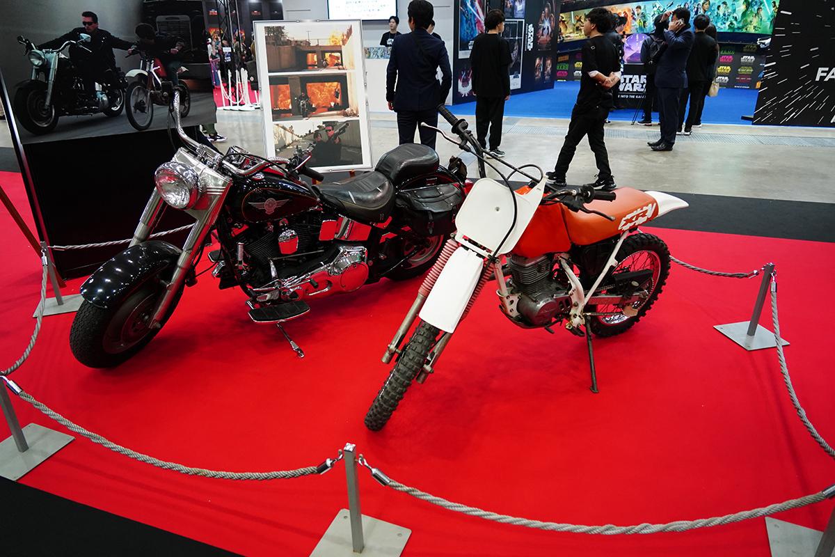 『ターミネーター2』登場のバイク 写真:斉藤直樹