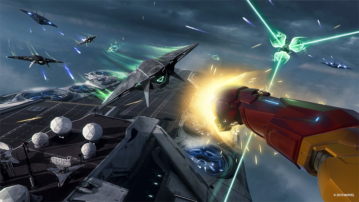 (c)  2020 MARVEL (c) 2020 Sony Interactive Entertainment LLC. Developed by Camouflaj.