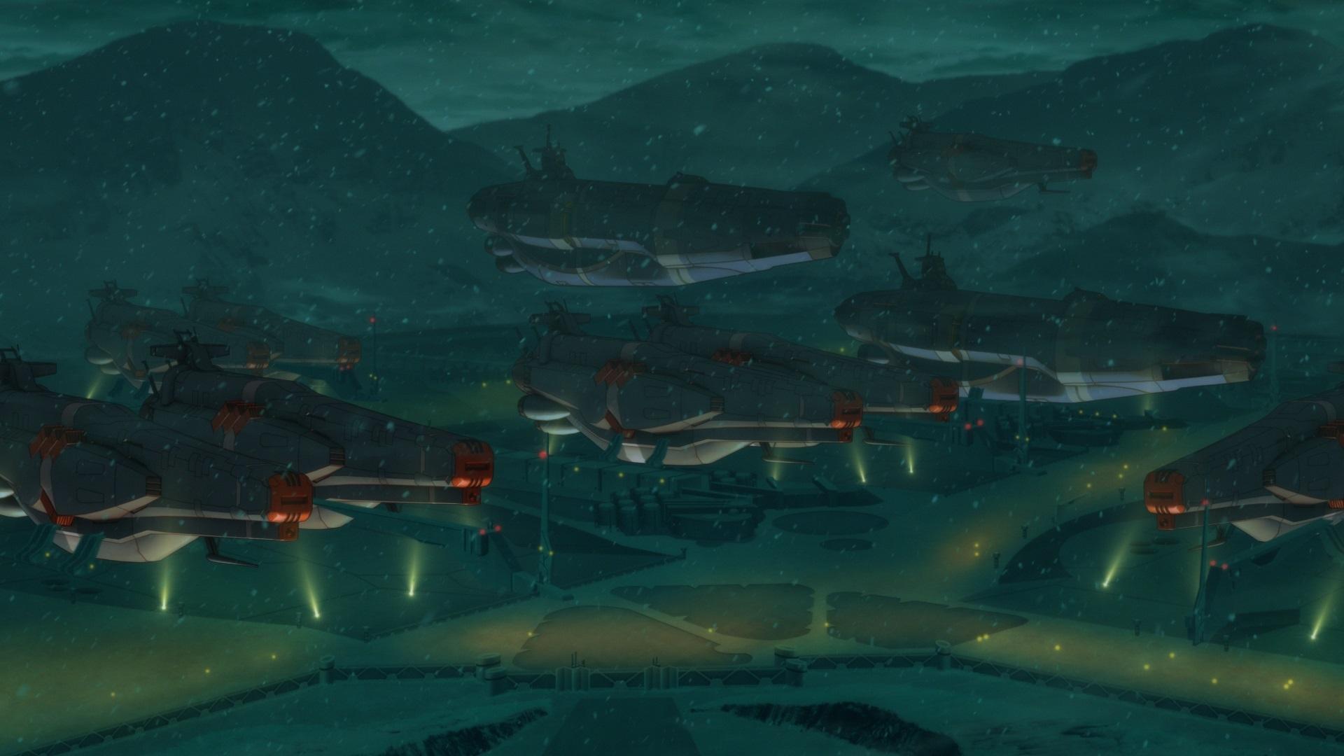 『宇宙戦艦ヤマト2205』冒頭場面カット (c)西﨑義展/宇宙戦艦ヤマト2205製作委員会