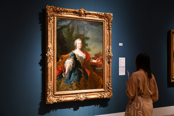 マルティン・ファン・メイテンス(子)《皇妃マリア・テレジアの肖像》 1745-50年頃 ウィーン美術史美術館