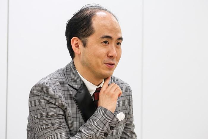 斎藤司(トレンディエンジェル)。 撮影=田浦ボン