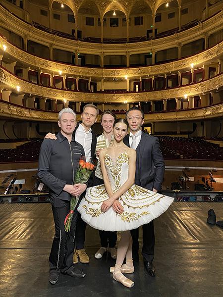 ウクライナ国立劇場にて ウラジーミル・マラーホフと