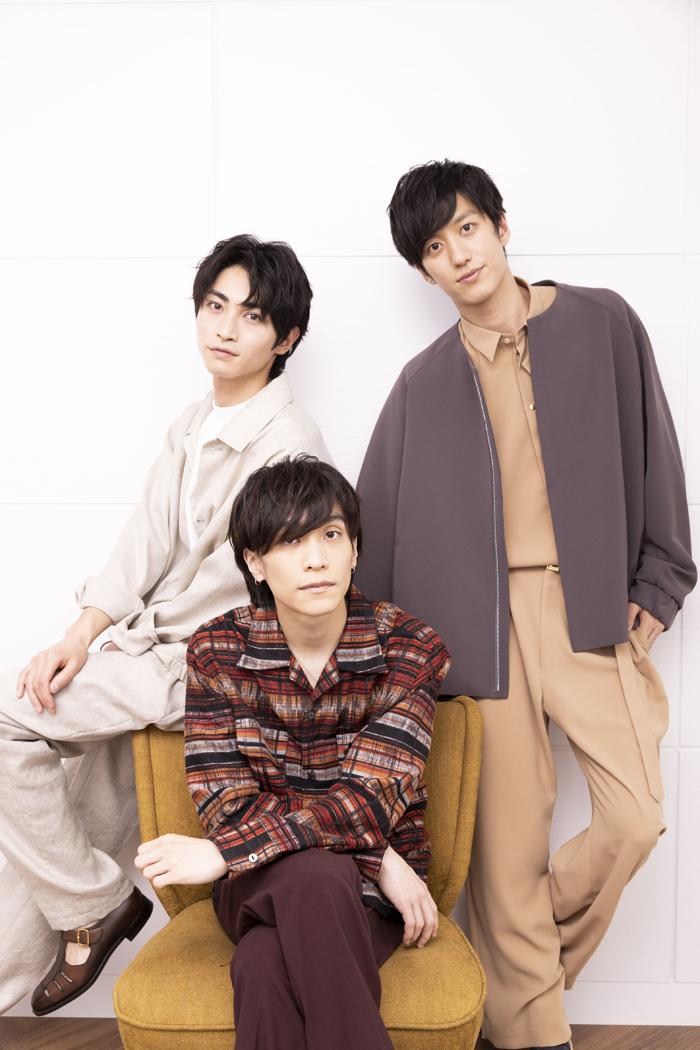 (左から)木村達成、平間壮一、水田航生