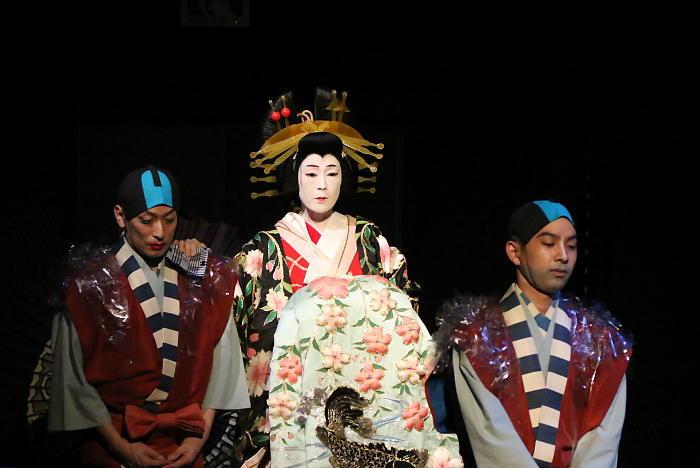 六本木歌舞伎 第二弾『座頭市』ゲネプロより
