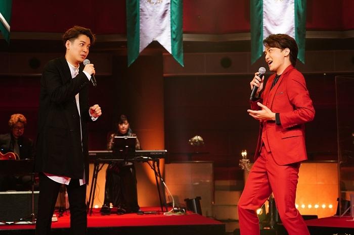 (左から)大野拓朗、井上芳雄