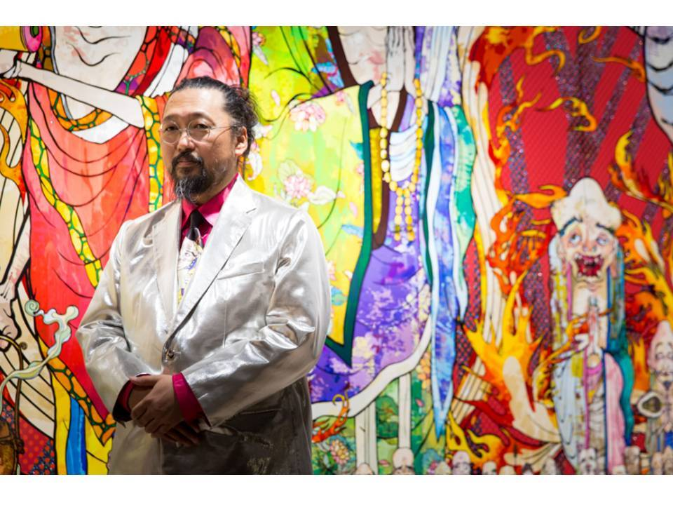 撮影:御厨慎一郎 写真提供:森美術館  (C)2012 Takashi Murakami/Kaikai Kiki Co., Ltd. All Rights Reserved.