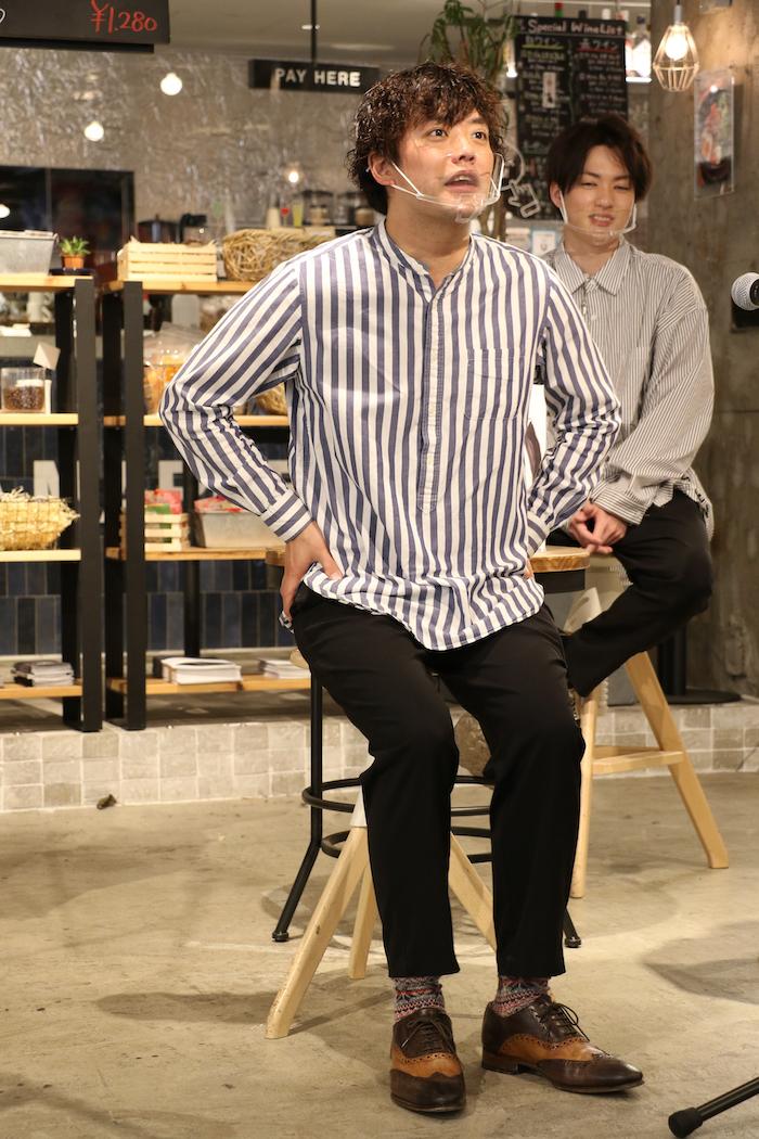 衣装テーマ:私の休日 藤岡「当たり障りのない感じで作ってきました」