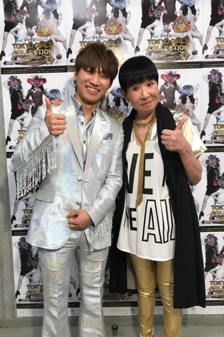 左から、D-LITE、和田アキ子