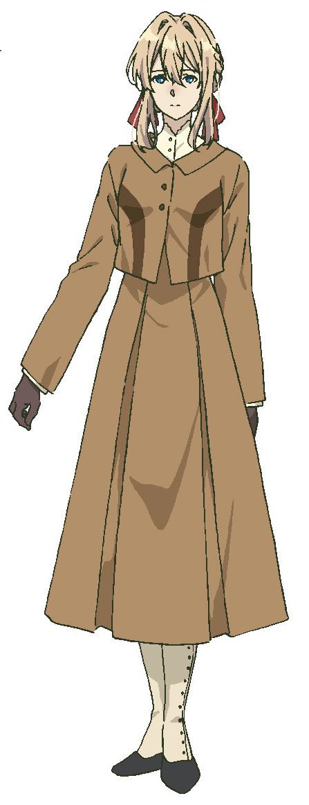 【ヴァイオレット・エヴァーガーデン】 CV:石川由依 C.H郵便社で、「自動手記人形」と呼ばれる代筆業に従事している元少女兵。依頼でイザベラの教育係として女学園へ赴く。