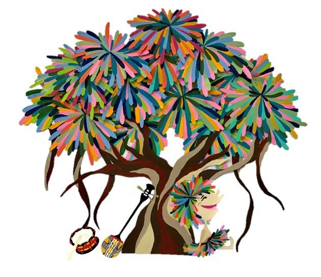 『ガジュマルの樹の下で』 ビジュアル