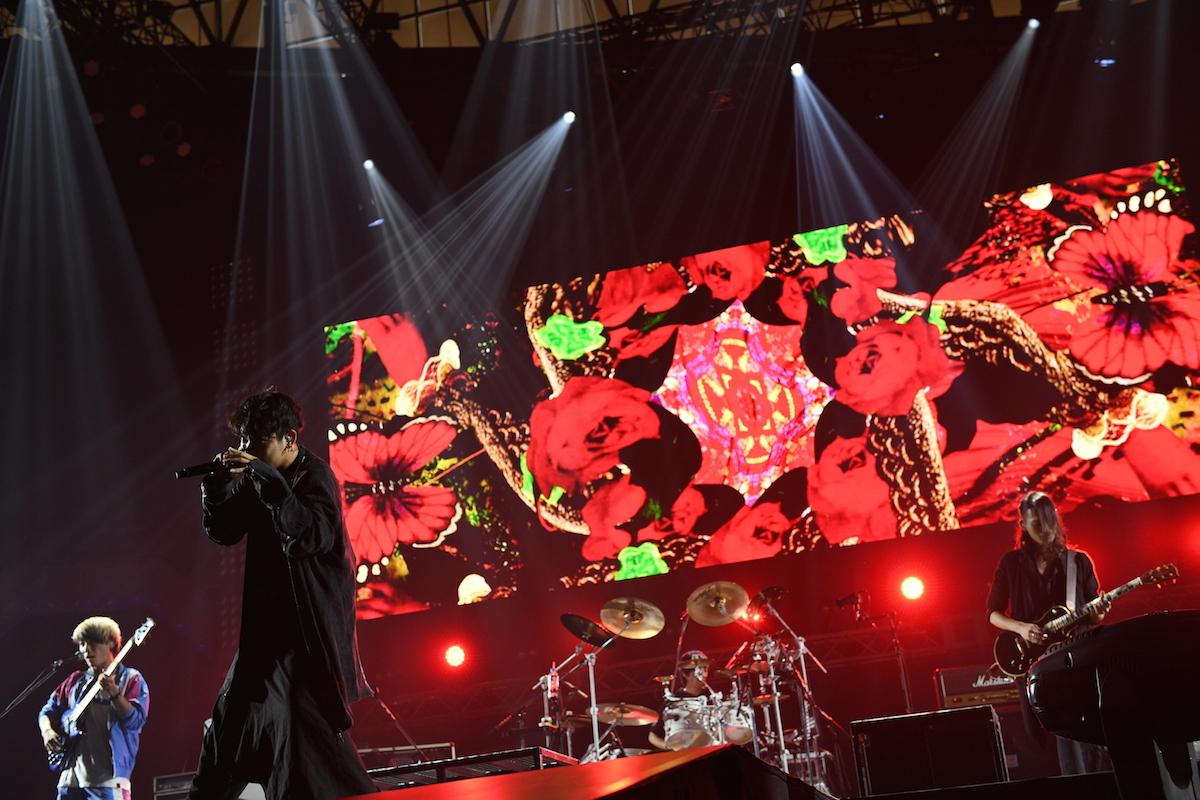 THE ORAL CIGARETTES ©テレビ朝日 ドリームフェスティバル 2018 / 写真:岸田哲平