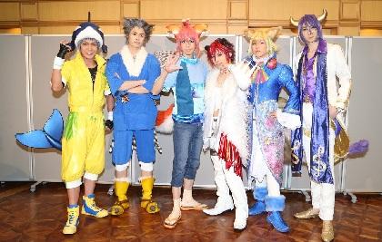 """""""ショバミュ""""最新作、Live Musical「SHOW BY ROCK!!」-狂騒のBloodyLabyrinth-熱狂の幕開け!"""