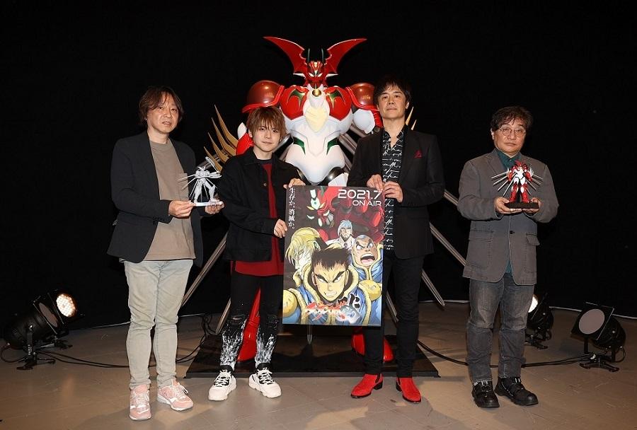 左から本橋秀之、内田雄馬、石川英郎、南喜長