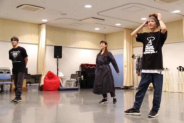 戸田恵子、HILOMU、TAKAHIRO