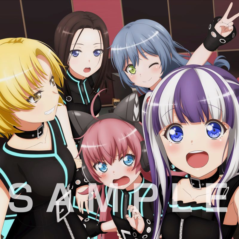 RAISE A SUILEN 1st アルバム『ERA』裏ジャケット (C)BanG Dream! Project (C)Craft Egg Inc. (C)bushiroad All Rights Reserved.