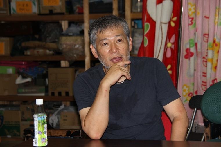 内藤裕敬(南河内万歳一座座長)  (C)H.isojima