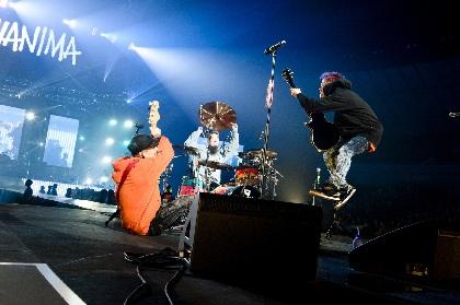 WANIMA 新曲「春を待って」を初披露、全国ツアーアリーナ編初日・横浜アリーナ公演の公式レポートが到着